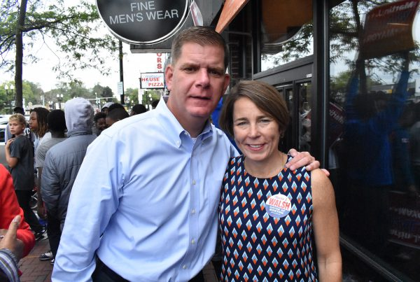 Marty Walsh with AG Maura Healey
