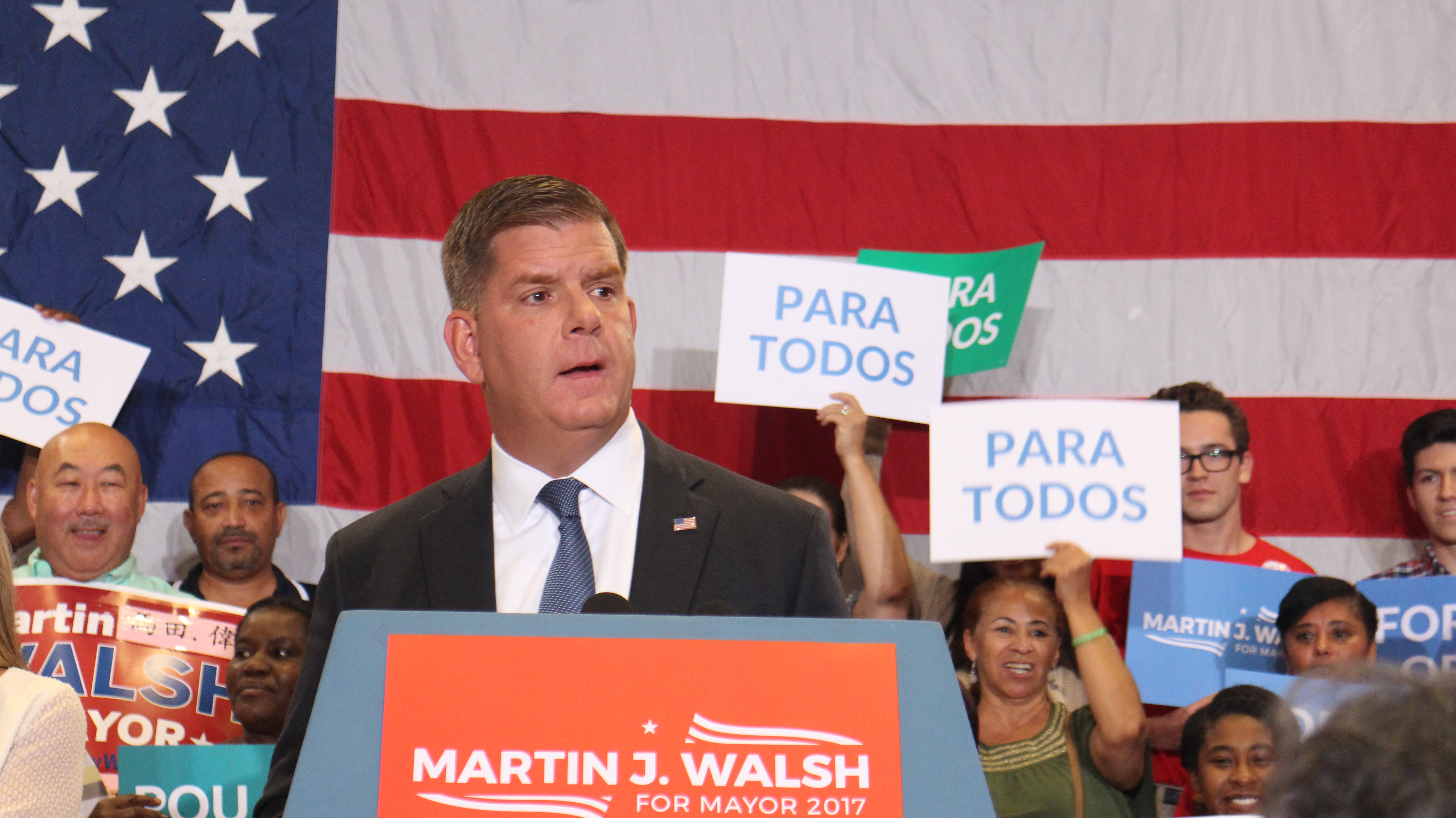 Marty Walsh wins Boston Mayoral Preliminary Election
